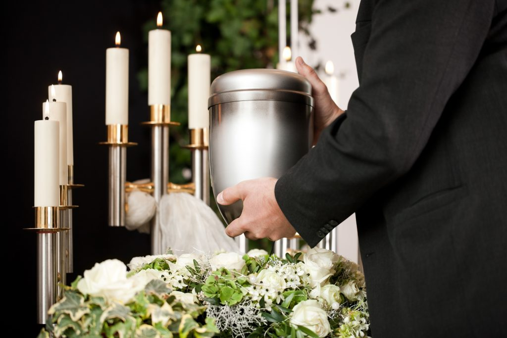 cremation burial